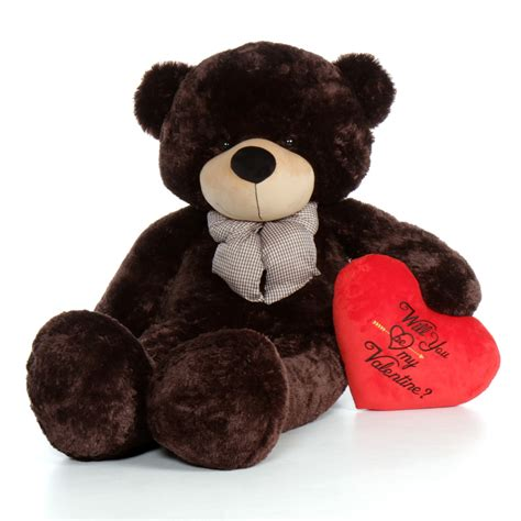 will you be my teddy 5ft brown will you be my teddy