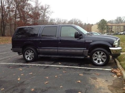 sell used 2001 ford excursion xlt sport utility 4 door 6