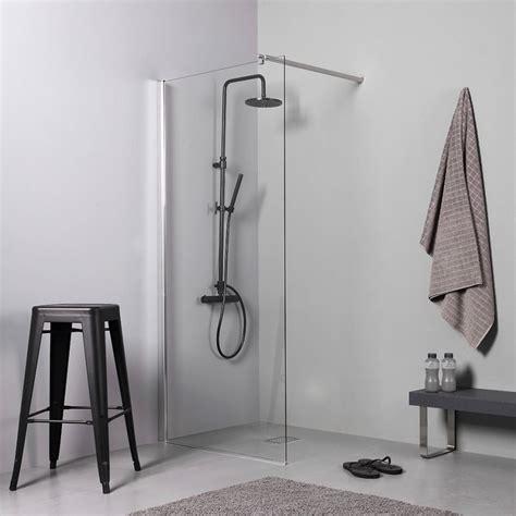 box doccia a filo pavimento doccia walk in 90 cm per piatto doccia o filo pavimento
