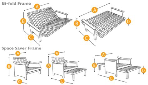 futon frame sizes futon frame sizes bm furnititure