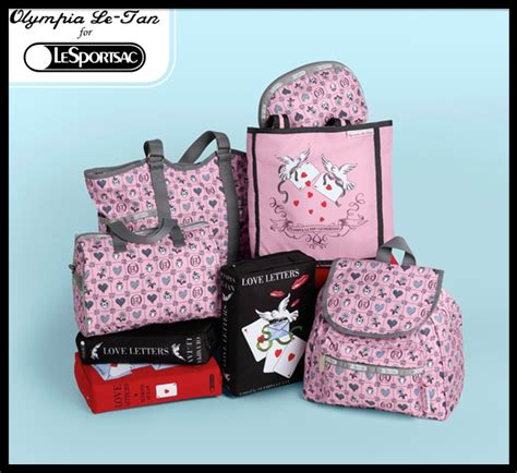 Stella And Sportsac Collaboration by Sac Letters Sac Ace Of Hearts Olympia Le For