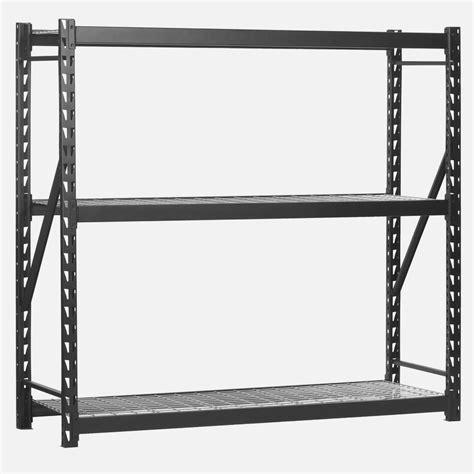 edsal 3 tier free standing shelves