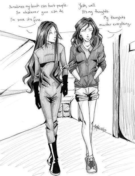 Mara and Juliette Shatter me The unbecoming of mara dyer