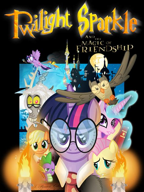 my little pony harry potter 1 poster by knadow the