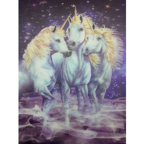 Unicorn Lenticular 3d Picture Animal Poster Painting Home | unicorn lenticular 3d picture animal poster painting home