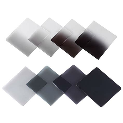 Filter P Series Nd16 Grey new graduated grey color square filter nd nd2 nd4 nd8 nd16 neutral density filter for cokin
