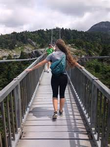 the swinging bridge summary grandfather mountain journey fit and fulfilled