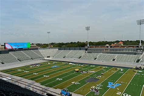 Fields Of Green Original Board stadiums of the american athletic conference rivals