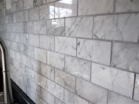 carrara marble subway tile kitchen backsplash carrara marble subway tile transitional kitchen