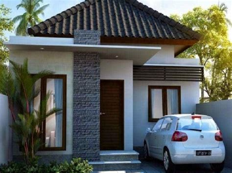 desain rumah kecil tipe  nyaman  kesederhanaan