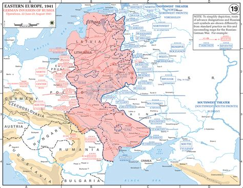 russia map after ww2 map of wwii russia june august 1941