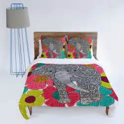 Peacock Duvet Cover Set Cute Fun And Unique Elephant Bedding Sets Pillows And