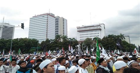 Sho Kuda Di Jakarta massa aksi 313 quot menyemut quot di kawasan patung kuda jakarta