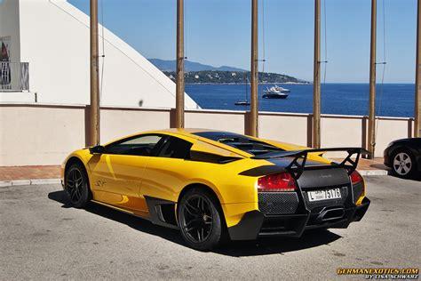 Yellow Black Lamborghini Murcielago SV   1   MadWhips
