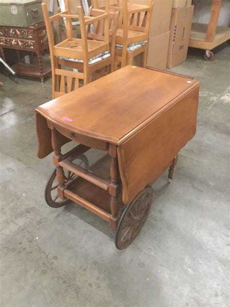 antique kitchen islands antique boat couch an extended vintage wooden drop leaf rolling wooden tea cart
