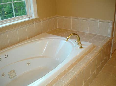 Tiling Around A Bathtub by Master Bath Redone Charlottesville