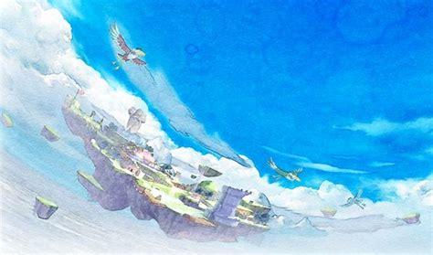 legend of zelda skyloft map skyloft the legend of zelda skyward sword minecraft project