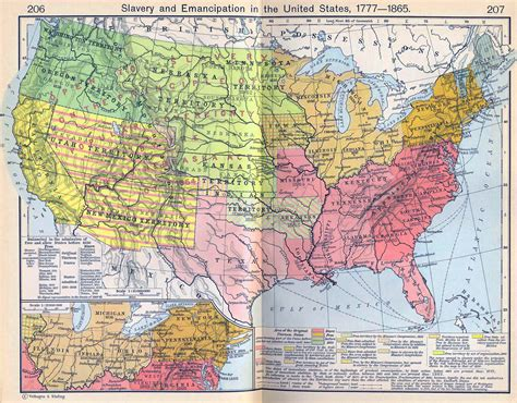 map of the us during the 1700s maps united states map during slavery