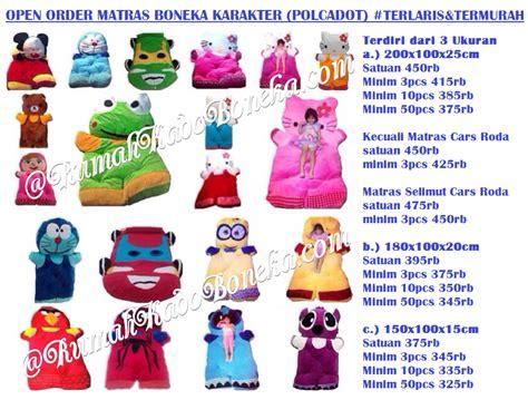 Karpet Karakter Boneka pusat grosir boneka murah pusat grosir matras karakter