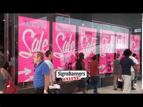 werkstatt banner shop window sale banners poster ideas
