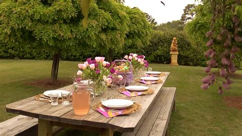 outdoor easter table  home  p allen smith youtube