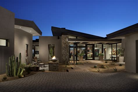 contemporary architect project feature contemporary desert mountain estate phx