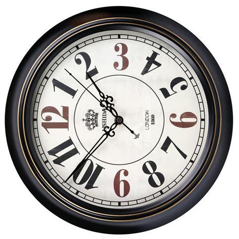 cool wall clocks  metal silent unique