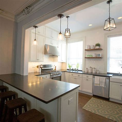 u shaped kitchen makeovers a kitchen peninsula is a great addition to an open kitchen