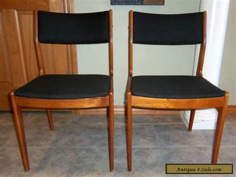 vintage mid century modern furniture for sale pair of vintage mid century modern teak dining chairs for sale in united states