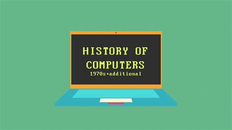 The Computer history of computers a timeline