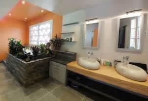 salle de bain d 233 co zen et nature c 244 t 233 maison