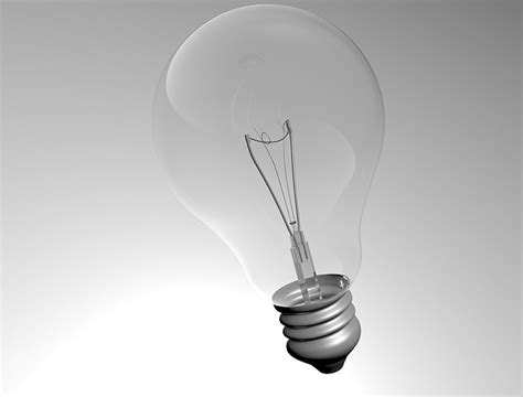 Light Bulb 3d Model