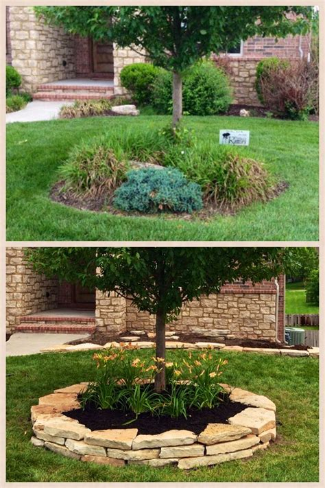 yard tree best 25 mulch landscaping ideas on mulch
