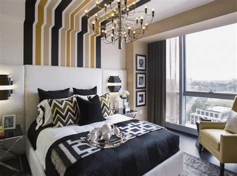 fancy name for bedroom 18 fancy bedrooms with striped accent walls