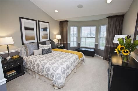 yellow and grey master bedroom peaceful yellow and gray bedroom