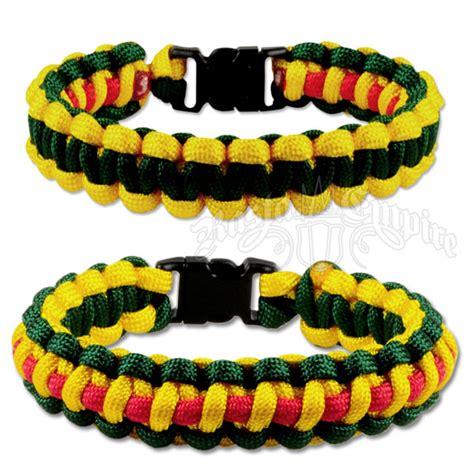 Rasta/Jamaican Paracord Bracelet @ RastaEmpire.com