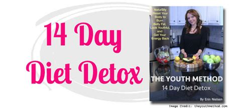 The Youth Method 14 Day Detox by 14 Days Diet Detox Program For Menopause