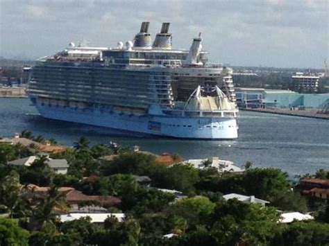 cruise ship departing from port everglades picture of