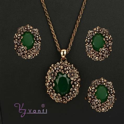 Handcrafted Jewelry Wholesale - vanfi jewelry 2 green handcrafted wholesale