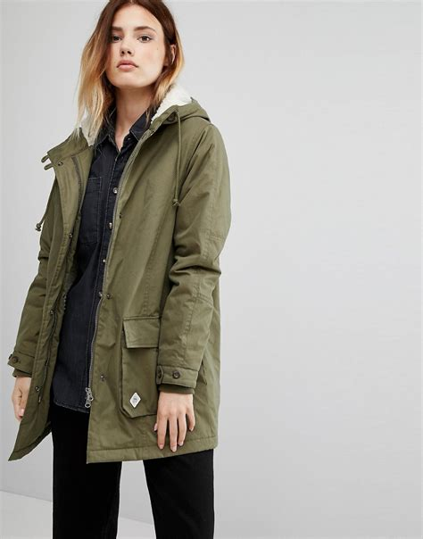 Pull And Anorak Quilted Jacket Black coats jackets ootd magazine