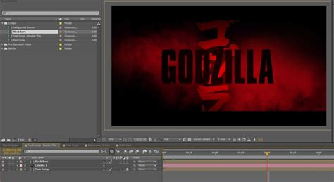 after effects templates free online after effects template to create godzilla movie like titles