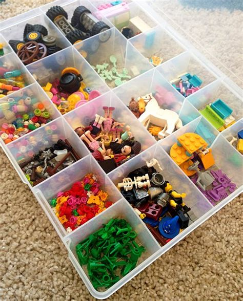 Floor Sliders by 20 Lego Storage Ideas For Girls The Organised Housewife