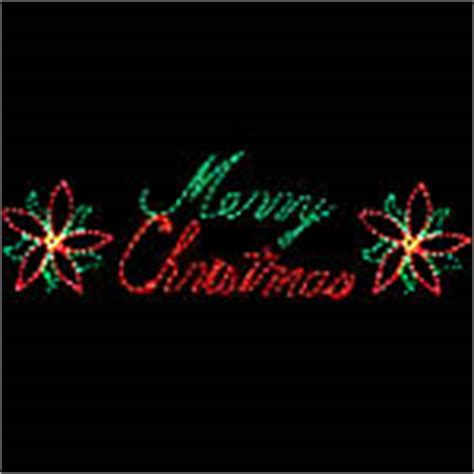 lighted chrsistmas and holiday signs