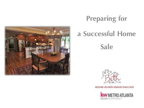 preparing for a successful home sale