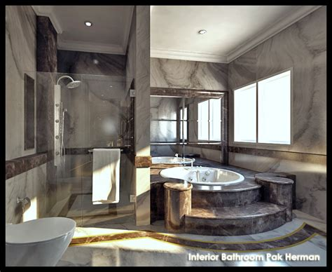 Marble Master Bathroom Marble Master Bathroom By Sansamuel On Deviantart
