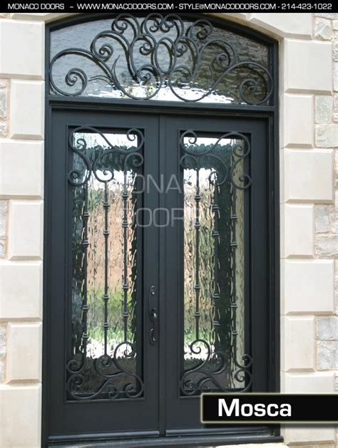 Exterior Iron Doors Wrought Iron Entry Doors Monaco Doors