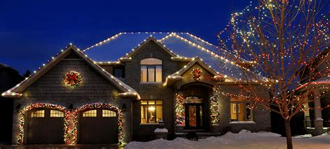 companies that decorate homes for christmas christmas decor professional christmas light installation