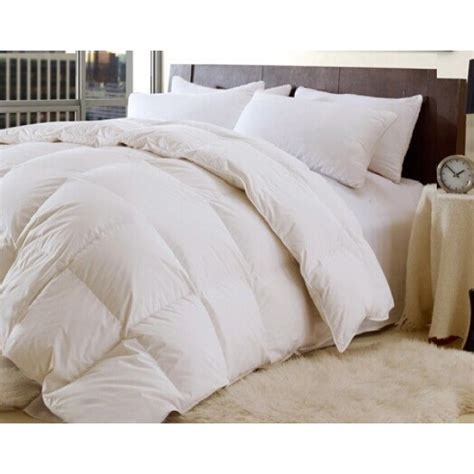 thick heavy comforters high quality down and feather 95 5 thick heavy fill