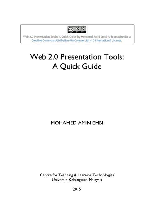 web 2 0 tools on emaze web 2 0 presentation tools a quick guide