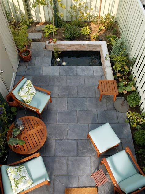 small backyard spaces cozy intimate courtyards hgtv